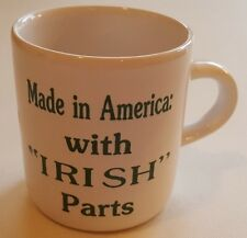 """ODIN LTD - Childrens Mug Small Cup - Made in America: with """"IRISH"""" Parts"""