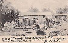 K 501 - Tu-Lien-Ta, Chinesisches Bauerngehöft, 1908 gelaufen
