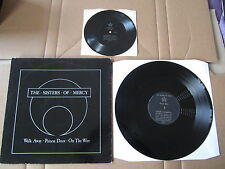 "THE SISTERS OF MERCY Walk Away 12"" RARE 1984 UK MR033T & Long Train FLEXI DISC"