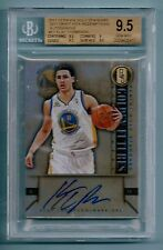 KLAY THOMPSON 2011/12 GOLD STANDARD DRAFT PICK REDEMPTION AUTO BGS 9.5 GEM MINT