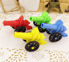 New listing Fd3713 Smart Cannon Style Eraser Rubber Pencil Stationery Cute Children 1p☆