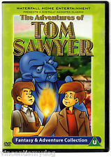 The Adventures Of Tom Sawyer (DVD, 2002, Animated)