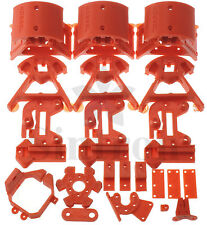 Kossel Mini Plastic Printed Parts for RepRap Rostock Delta Stampante 3D, PLA Red