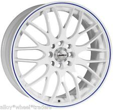 "17"" WB MOTION WHEELS FIT FORD ESCORT FIESTA MONDEO FUSION B MAX COUGAR 4X108"