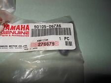NOS Yamaha R6 YZ WR400 +++ BOLT, WASHER BASED Cylinder Head # 90105-067A6