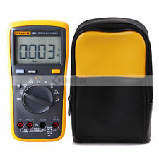 Fluke 15B+ Auto Range Multimeter  + Soft Carrying Case Carrier Bag Holster