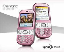 Palm Centro 690 Sprint Cell Phone treo PINK qwerty keyboard camera pda web -A-