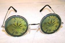 MULTIPLE POT LEAFS HOLOGRAM SUNGLASSES  novelty glasses eyewear 3D MARIJUANA NEW