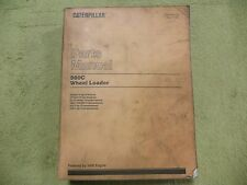 Caterpillar 980C 63X6575- CAT Wheel Loader Parts Manual Book