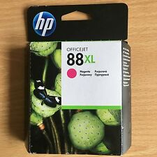 GENUINE AUTHENTIC HP HEWLETT PACKARD INK CARTRIDGE HP 88XL MAGENTA C9392AE 11/12