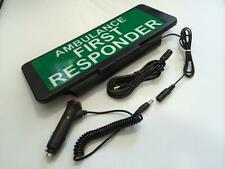 LED Univisor AMBULANCE FIRST RESPONDER visor flashing Remote Control
