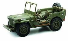 Ray Jeep Willys 1:32 Scale Die Cast Model Car WW II Military US Army Vehicle