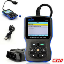 C310 Multi System OBDII Scanner Fault Code Reader Engine Diagnostic Tool For BMW