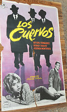 Used - Cartel de Cine  LOS CUERVOS  Vintage Movie Film Poster - Usado