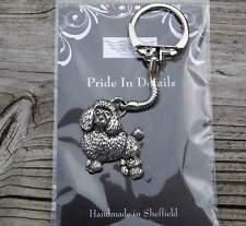 Hund - Pudel  - von Prideindetails als Schlüsselanhänger