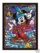 Mickey Mouse Stained Glass Arts - 266 Pieces Jigsaw Puzzle by Tenyo from Japan