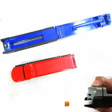 Manual Single Tube Tobacco Roller Cigarette Injector Maker Machine Plastic