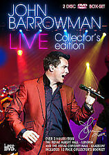 JOHN BARROWMAN LIVE - 2 DISC COLLECTORS EDITION DVD BOX SET; NEW AND SEALED
