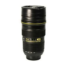 Coffee Mug / Cup / Thermos Lenscup / Lens Cup Stainless Steel Nikon -USA SELLER
