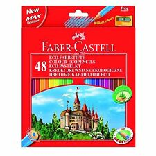 Faber Castell Colouring Pencils Pack Of 48 Adult Multi Set Eco Friendly