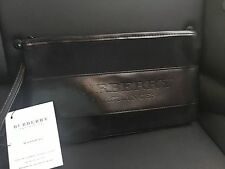 Burberry Black Cosmetic Makeup Bag Pouch Wristlet New Gift With Purchase