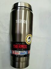 Thermos 16 oz stainless steel double wall travel tumbler