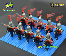 Lot 10 PCS Castle Knights Series The Eagle King Knights building block toy1010