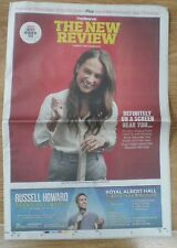 Alicia Vikander - Observer - The New Review – 13 December 2015