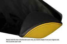 Diseño 2 Negro Y Amarillo Personalizado Para Honda Cbr 1000 Rr 08-12 Fireblade almohadilla cubierta