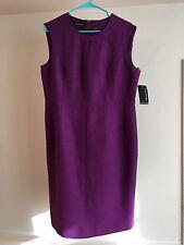 Evan Picone 14 Dress NWT Purple Shift Lined $99