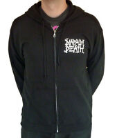 """Napalm Death """"From Enslavement To Obliteration"""" Zip Hoodie - NEW OFFICIAL"""
