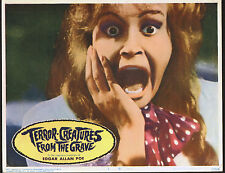 TERROR-CREATURES FROM THE GRAVE orig 1967 lobby card HORROR 11x14 movie poster