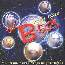 B-52's Planet Claire Uk Cd (original yellow inserts) NEW SEALED