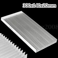 300x140x20mm Aluminum Heat Sink Dissipateur Radiateur Pr LED Power IC Transistor