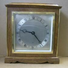 Vintage English ELLIOTT mantel  clock . Mahogany case / working order Time only