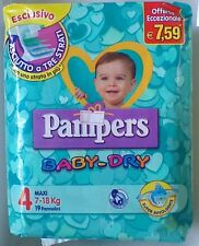 PAMPERS Baby-Dry 4°Mis. 7-18 kg 8 conf. 152 pannolini