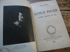 NICOLAS POUSSIN PREMIER PEINTRE DU ROI EMILE MAGNE 1928