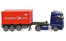 """#052348 - Wiking Containersattelzug (NG) (MAN TGX Euro 6) """"Hamburg-Süd"""" - 1:87"""