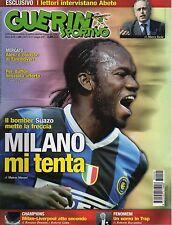 rivista GUERIN SPORTIVO ANNO 2007 NUMERO 20 SUAZO