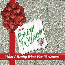 BRIAN WILSON -What I Really Want For Christmas - 2005 UK 15-trk CD - FREE UK P+P