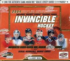 2003-04 PACIFIC INVINCIBLE HOBBY BOX HOCKEY