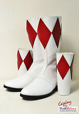 Mighty Morphing Power Rangers Made to Order boots