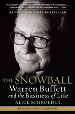 NEW The Snowball: Warren Buffett and the Business of Life by Alice Schroeder Pap