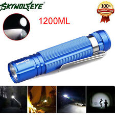 Zoomable 1200LM Waterproof Cree Q5 LED 14500 Sky Wolf Eye Lamp Mini Flashlight