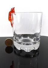 ROSSO Mouse funny glass Ornament BAR SHOT VINO BICCHIERE FLUTE Decorazione Display Nuovo