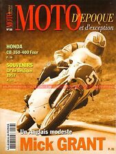 MOTO D'EPOQUE 26 HONDA CB 350 400 Four ITOM 50 TRIUMPH Tiger MORINI NORTON MANX