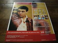 FAUDEL - PUBLICITE JE VEUX VIVRE - SFR !!!!!!!!!!!!