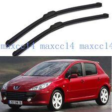 """Windscreen Window windshield Wiper Blades For Peugeot 307 2006-2007 28""""+26"""""""