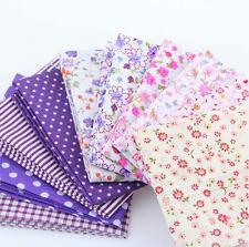 30Pc Cotton Fabric Bundle Patchwork Quilting Sewing Crafts Scrapbook Squares