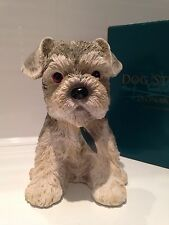 Minature Standard Schnauzer Puppy Love Ornament Figurine Figure Dog Gift